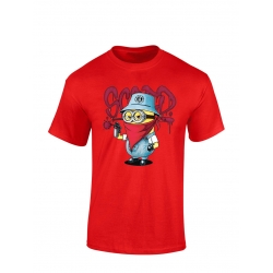 "tee-shirt enfant ""Mini Scred"" Rouge"