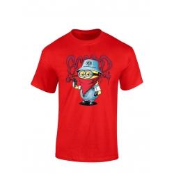 """tee-shirt enfant """"Mini Scred"""" Rouge"""