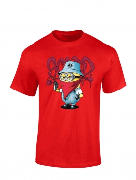 "tee-shirt ""Mini Scred"" Rouge"