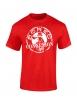 """tee-shirt enfant """"classico """" rouge et blanc"""