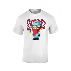 "tee-shirt enfant ""Mini Scred"" blanc"