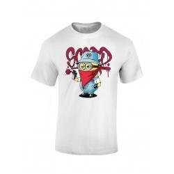 "tee-shirt enfant ""Mini Scred"" blanc"