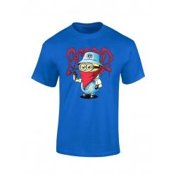 "tee-shirt enfant ""Mini Scred"" bleu"