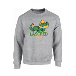 "Sweat ""Croco"" Gris"