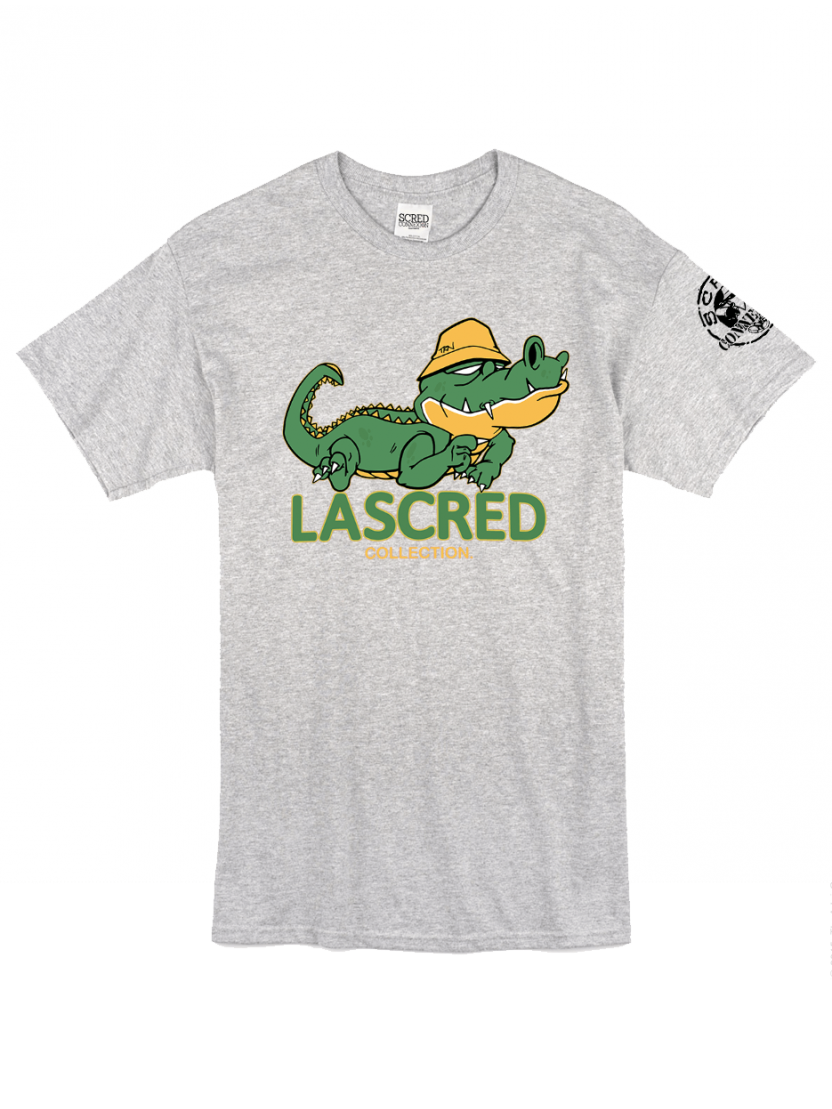"Tee Shirt ""Croco"" gris"