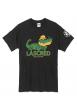 "tee-shirt ""Croco"" noir"