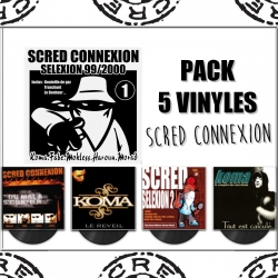 "Pack ""Vinyles Scred Connexion"""