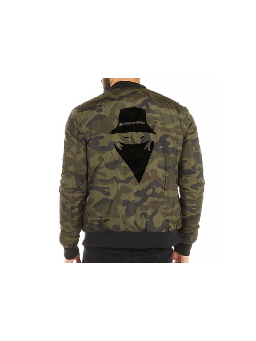 Bombers Military Gris Scred Connexion Classico
