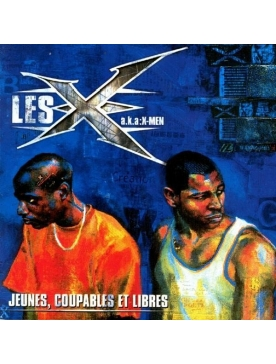 """Album Cd """"Les X"""" - Jeunes, Coupables et Libres"""