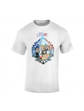 "tee-shirt ""Yoshi Douce France"" Blanc"
