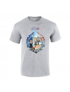"""tee-shirt """"Yoshi Douce France"""" gris"""