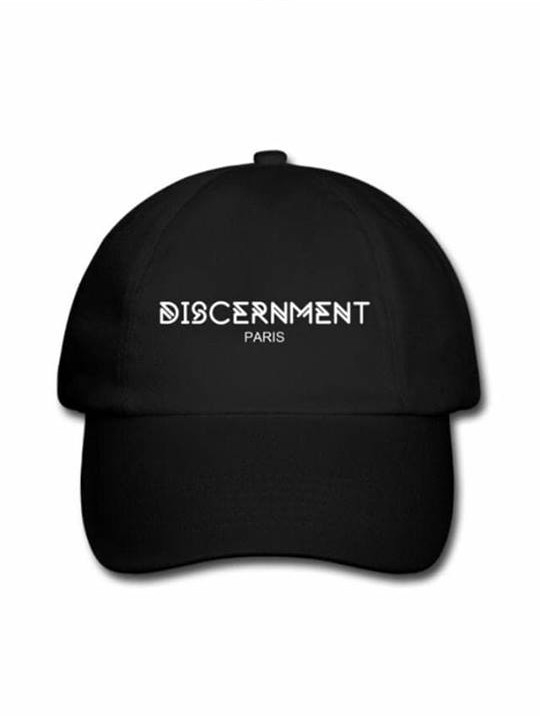 """Casquette """"Discernment"""" Noir"""