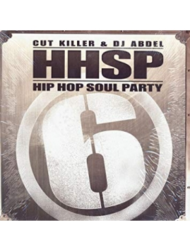 "Album Vinyl ""Hip Hop Soul Party ""Cut Killer x DJ Abdel"