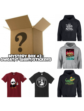 "Pack Mystery Box 1 ""Tee-shirt, CD,Stickers"""