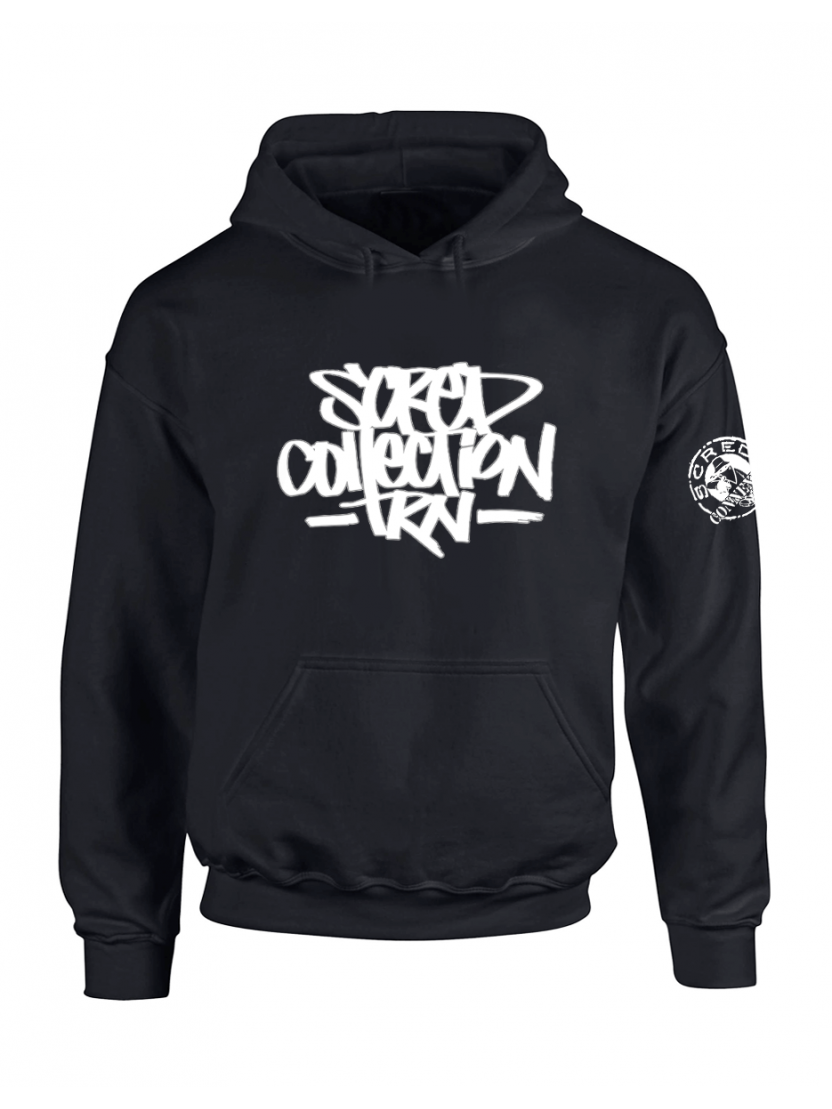 "Sweat Capuche ""TRNCollection"" Noir"