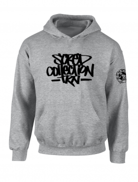 "Sweat Capuche ""TRNCollection"" Gris"