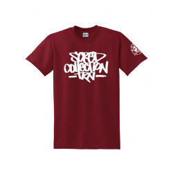 "tee-shirt ""TRNCollection"" burgundy"