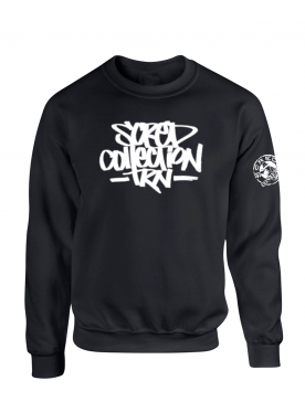 "Sweat Col Rond ""TRNCollection"" Noir"