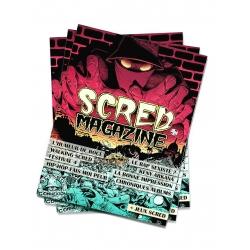 Scred Magazine 2019 version Papier