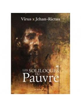 """Livre/CD Vîrus x Jehan-Rictus """"Les soliloques du pauvre"""""""