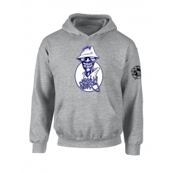 "Sweat Capuche ""Walking Scred"" Gris"