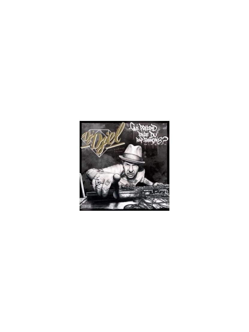 """Album Cd Dj Del """"Qui prétend faire du rap français?"""""""