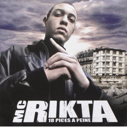 "Album Cd ""Mc Rikta"" 18 piges à peine"