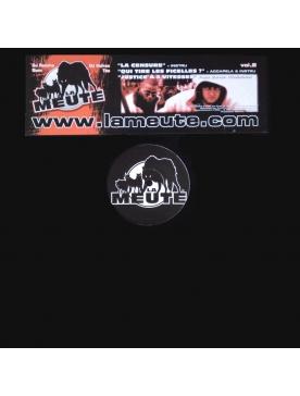 Maxi vinyl La Meute - La censure