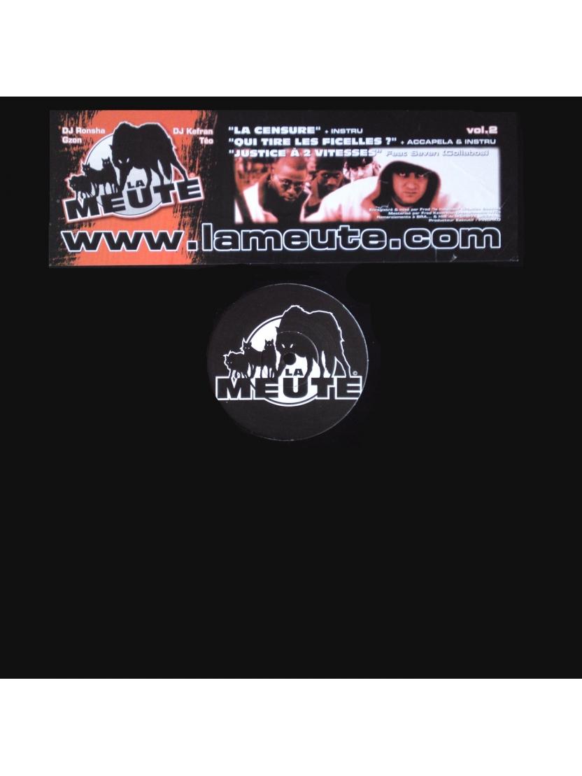 """Maxi vinyl La meute """" la censure """""""
