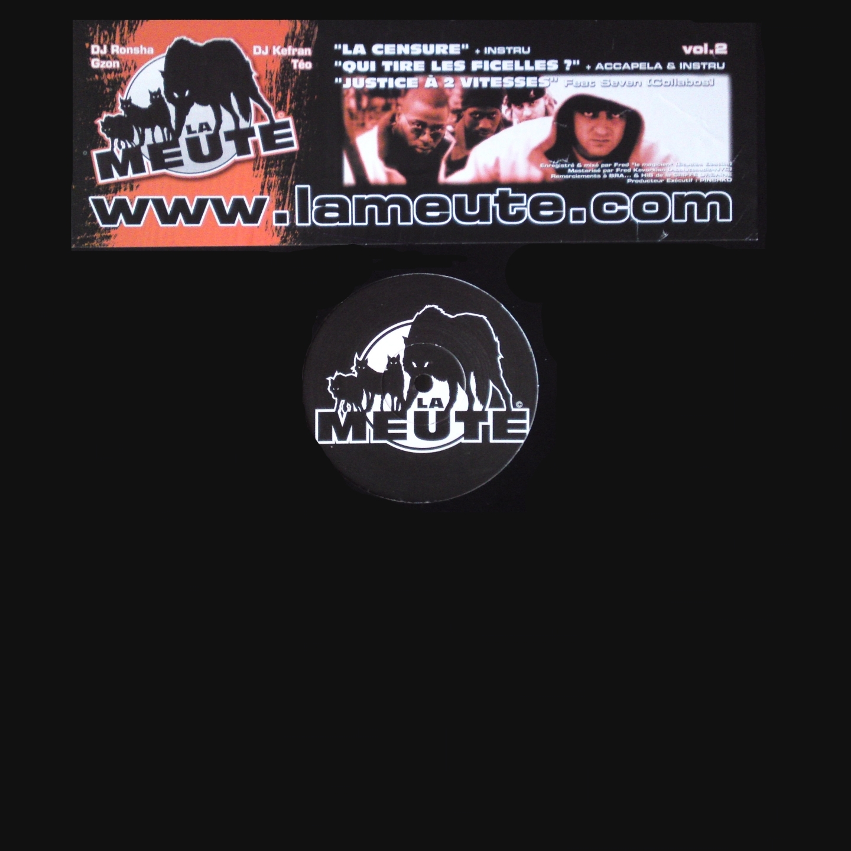 Maxi vinyle La Meute - La censure