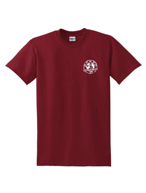 Tee Shirt Tellement Bas bordeaux