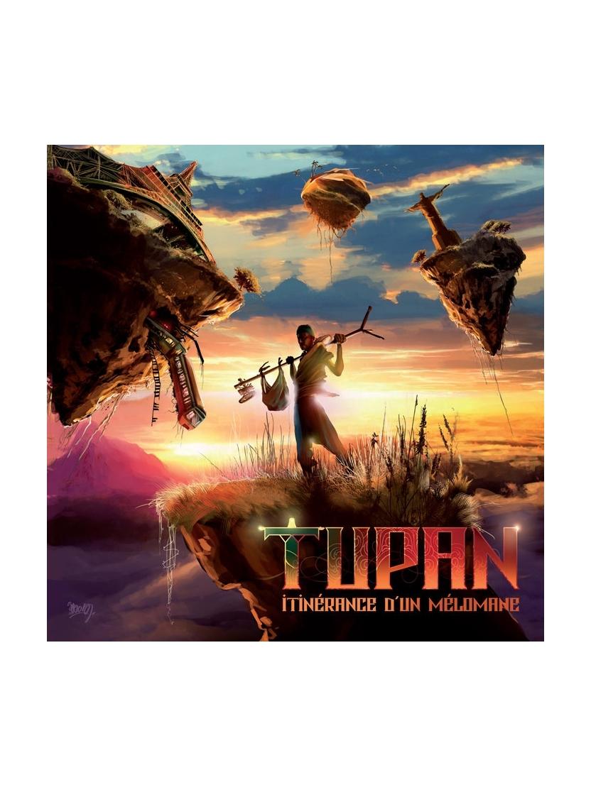 "Album Cd ""Tupan"" - itinerance d'un melomane"
