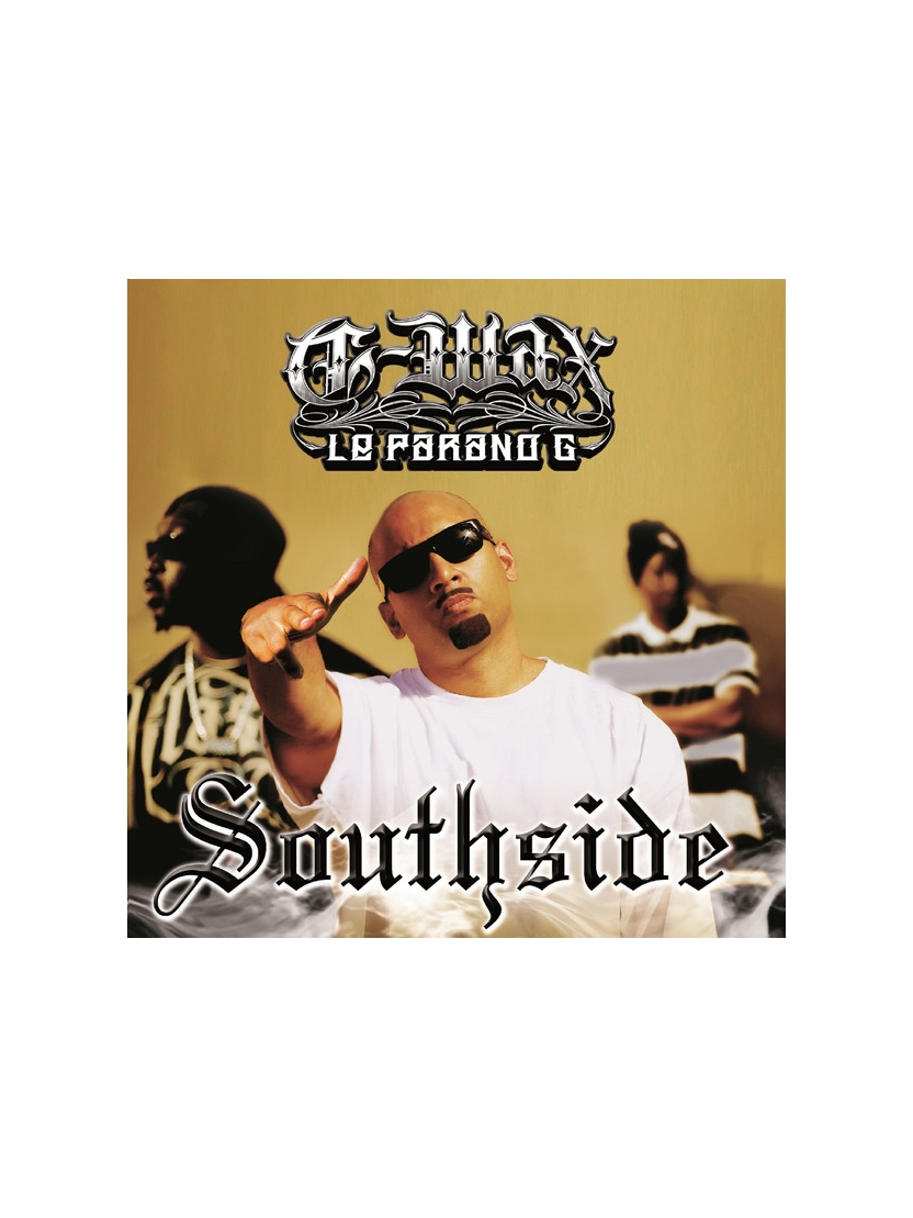 "Album Cd ""G-max le parano g"" - Southside"
