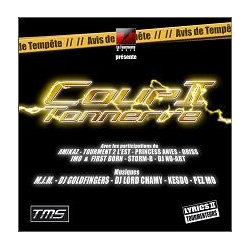 "Album Cd ""Coup 2 tonnerre"""
