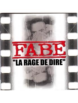 "Album vynil ""La rage de dire ""- Fabe"