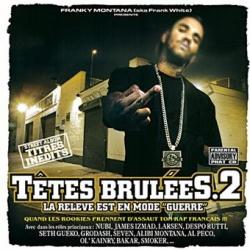 Album Cd tete brûlées 2