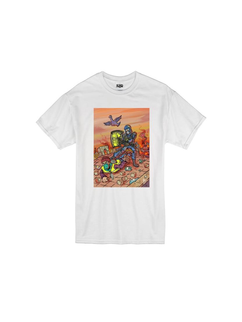 T-Shirt Latrache 02 Blanc