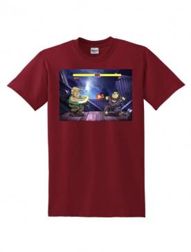 T-Shirt Latrache 03 Bordeaux