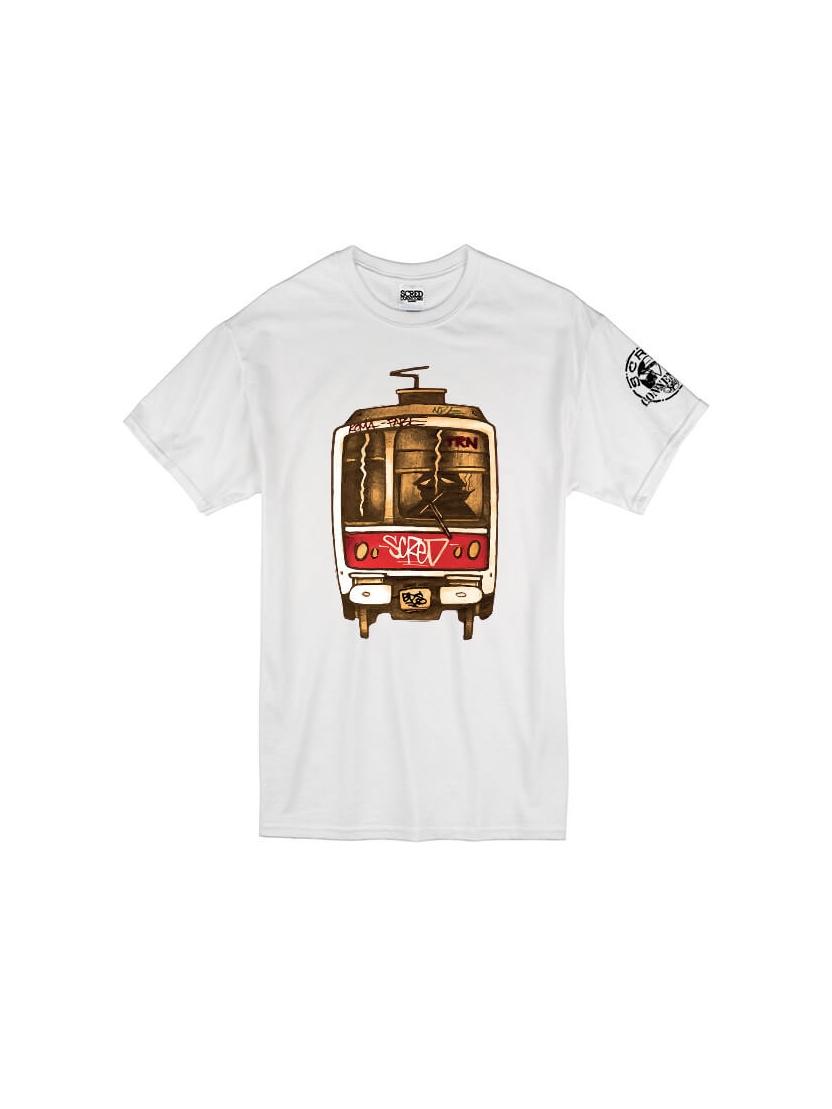 Tee Shirt Metro TRN Blanc