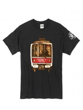 Tee Shirt Metro TRN Noir