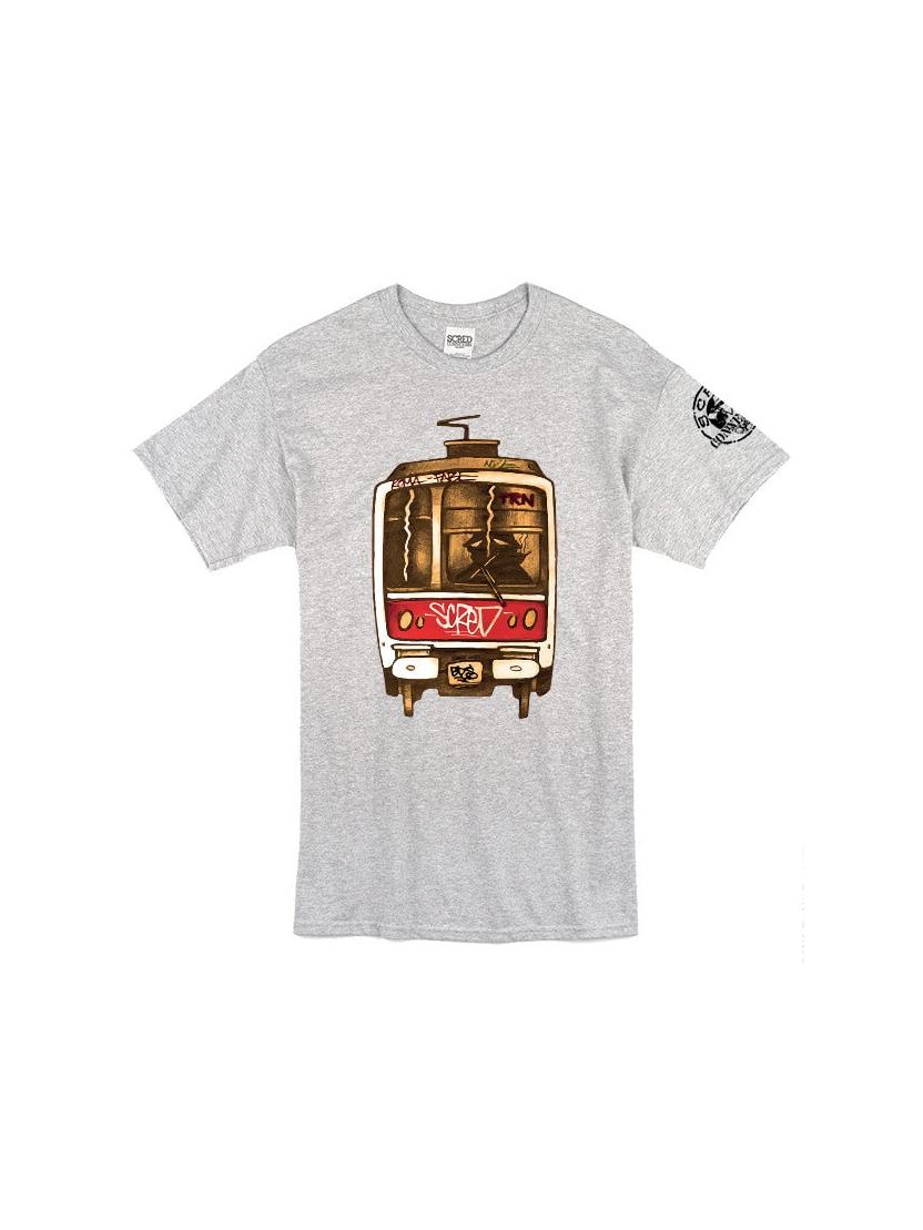 Tee Shirt Metro TRN Gris