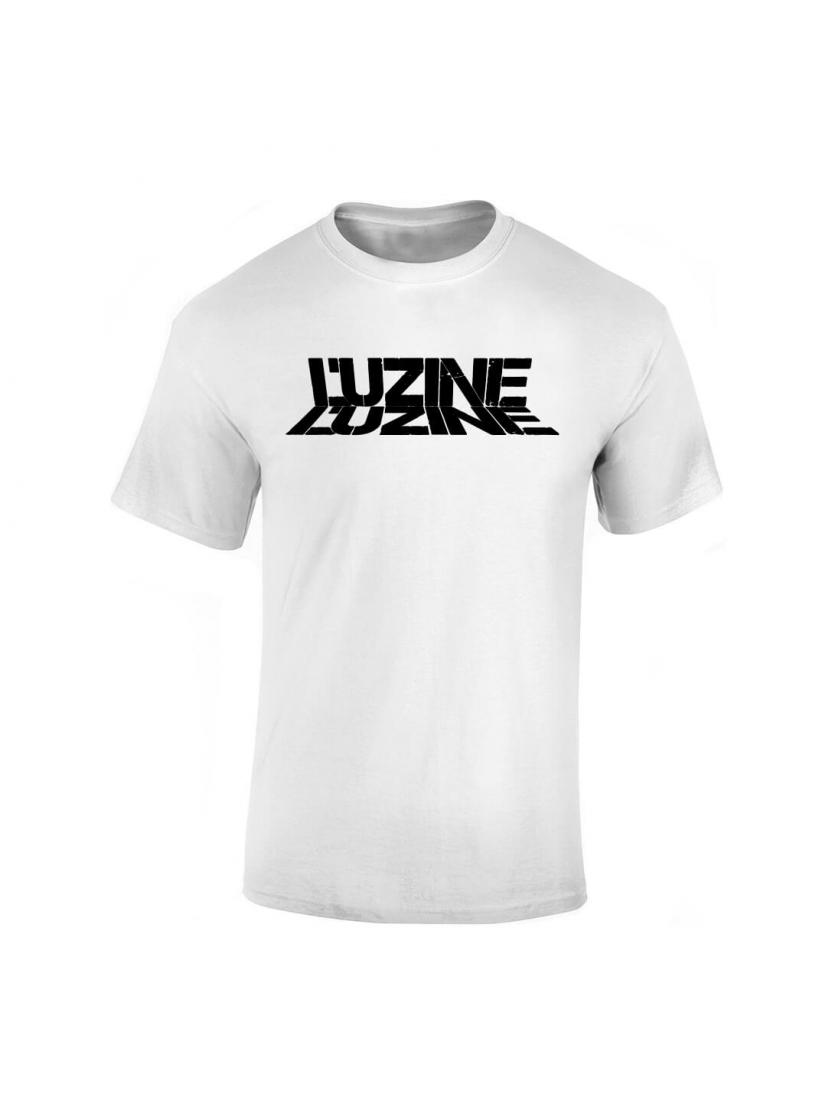 T-Shirt L'uzine blanc logo noir