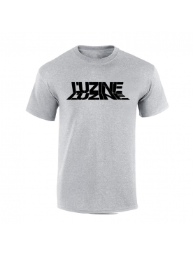 T-Shirt L'uzine gris logo noir