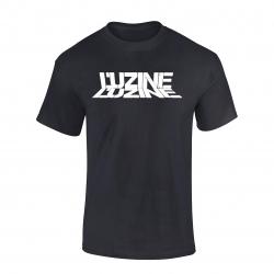 T-Shirt L'uzine noir logo blanc
