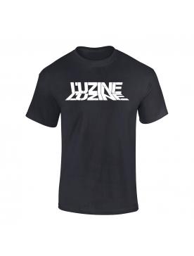 T-Shirt Luzine noir logo blanc