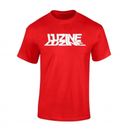 T-Shirt L'uzine rouge logo blanc