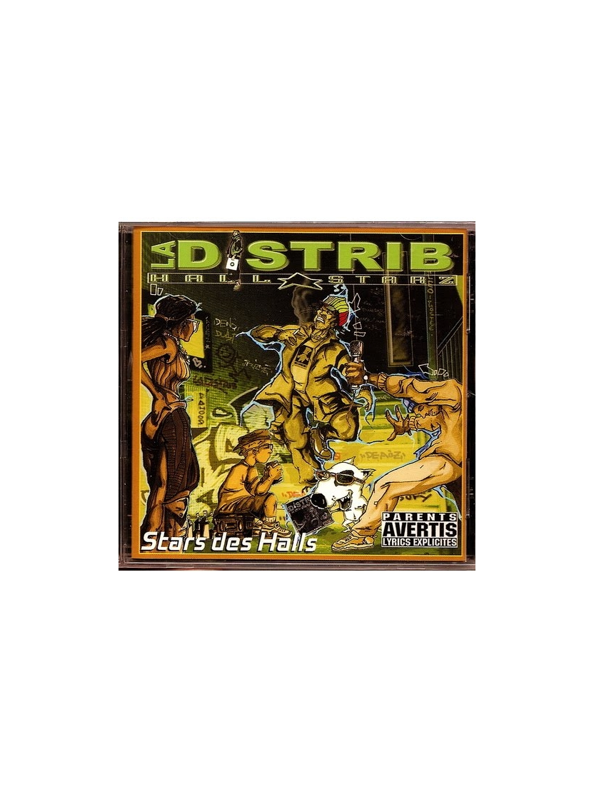 "Album Cd "" La Distrib Hall Starz"" - Star des Halls"