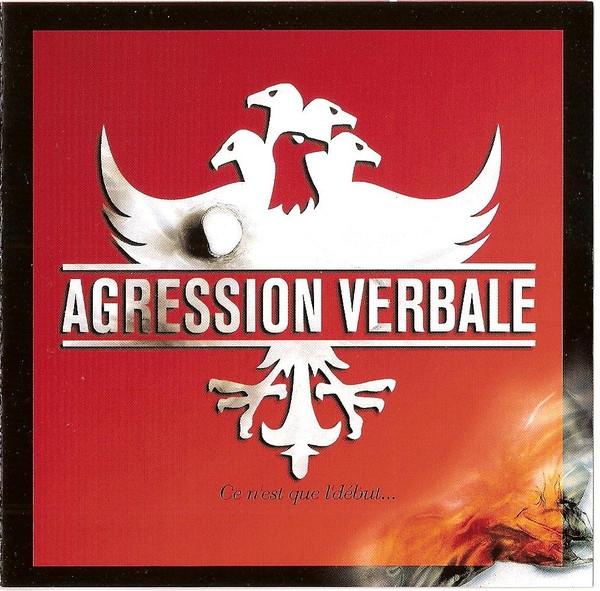 """album cd"""" Agression Verbale """""""