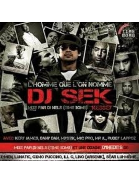 "Album Cd ""Dj Nels"" - L'homme que l'on nomme Dj Sek Kessey"