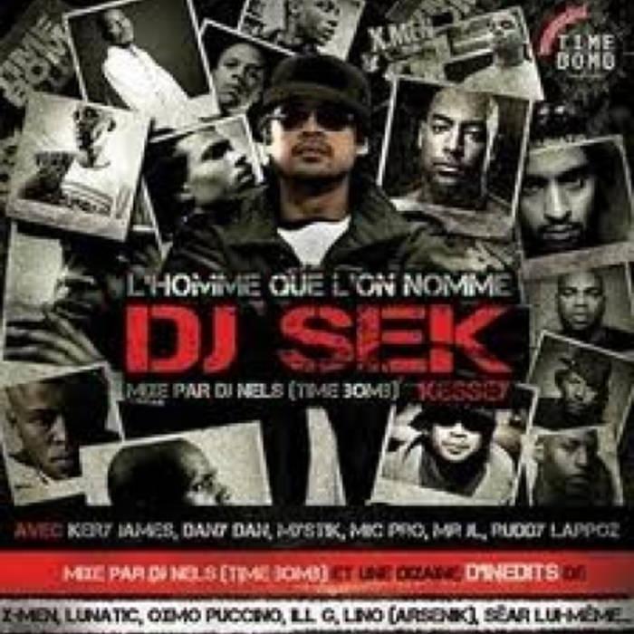 """Album Cd """"Dj Nels"""" - L'homme que l'on nomme Dj Sek Kessey"""
